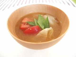 キャベツ 味噌汁