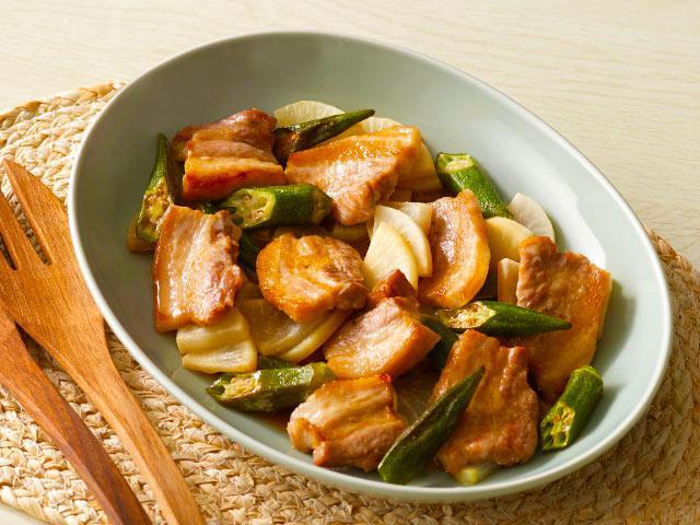豚 バラ タンパク質