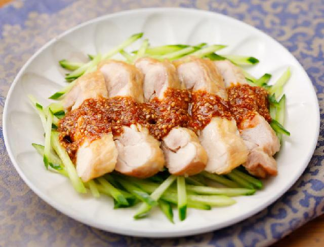 レシピ 蒸し 鶏